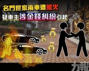 懷疑車主與人金錢糾紛引起