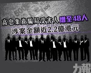 涉案金額近2.2億港元