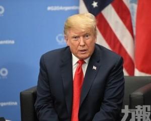 特朗普籲中國應與美國簽協議