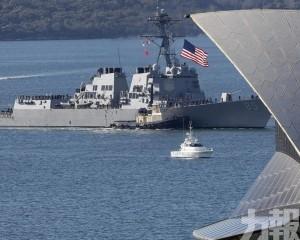 美軍再派軍艦穿越台灣海峽