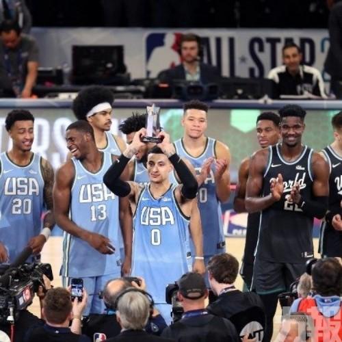 美國隊贏新季賽 古斯馬膺MVP