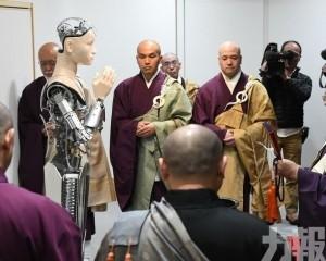 日本高台寺推智能觀音講經