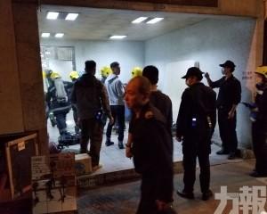 火警8旬男死者為起火單位住戶