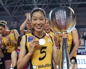 女排名將朱婷全力備戰東京奥運