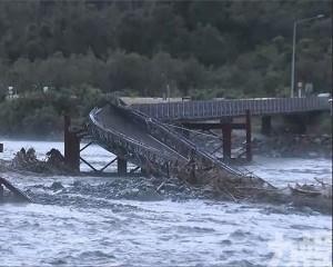 新西蘭南島西岸歷百年一遇暴雨