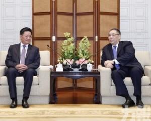 行政長官會見珠海市委書記郭永航