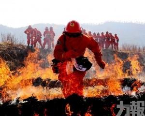 四川涼山火場出現復燃