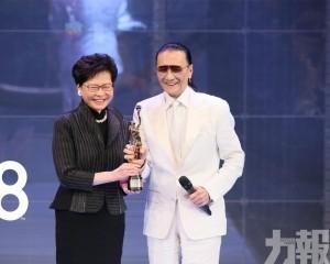 82歲謝賢奪終身成就獎