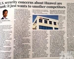 中國駐加大使:變相幫「賣廣告」
