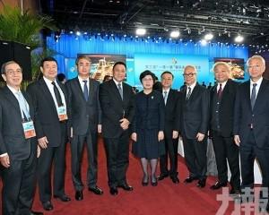 崔世安出席「一帶一路」國際合作高峰論壇開幕式