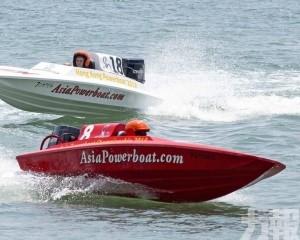 各地Powerboat好手極速飛馳