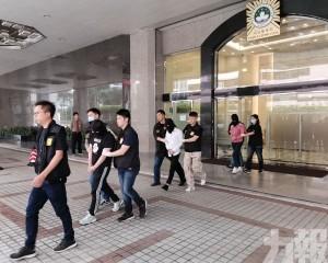 四名男女涉販毒關閘被捕