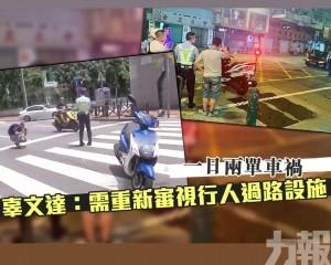 辜文達:需重新審視行人過路設施