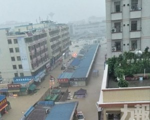 多區水浸 全市停課
