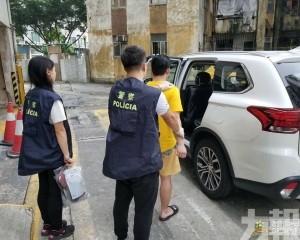 警拘前科菲籍「鹹豬手」