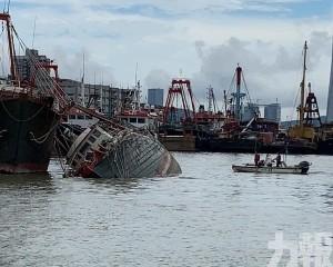 內港漁船入水擱淺無人傷
