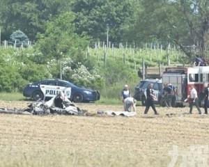 美小型飛機失事墜農田釀2死