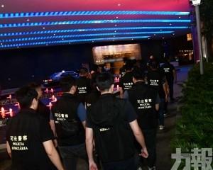 路氹娛樂場帶走多名換錢黨及扒仔
