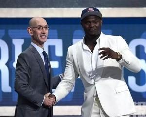 錫安威廉臣膺NBA選秀狀元
