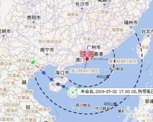 【颱風木恩】珠海8級大風兼暴雨