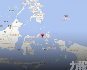 【印尼再震】馬魯古海5.4級地震