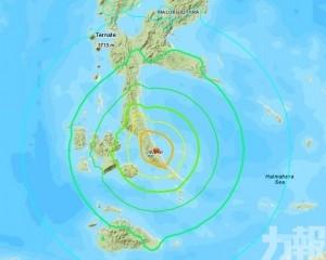 印尼哈馬黑拉島7.3級地震 有海嘯警告