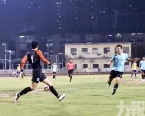 青鋒足總盃晉級決鬥鄒北記