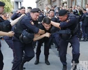 逾千人涉非法集會被捕