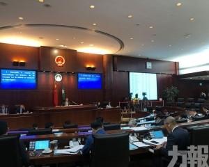 立法會全體會議否決議員對執委會議決上訴