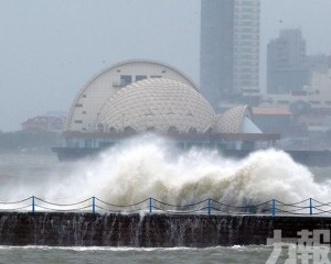 颱風「利奇馬」在山東青島再次登陸