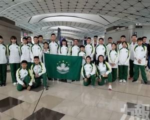 武術大軍強戰亞洲青少年賽