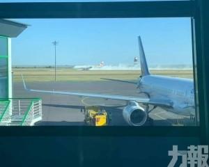 三亞飛哈薩克客機緊急迫降