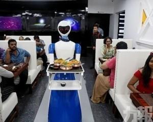 機械人上菜服務全自動