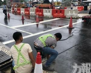 亞馬喇前地交通燈完成修復