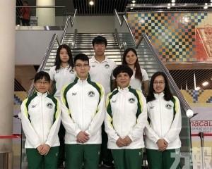 參加亞洲盃跳水賽事