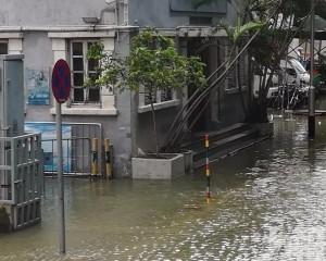 內港兩水位站需遷移