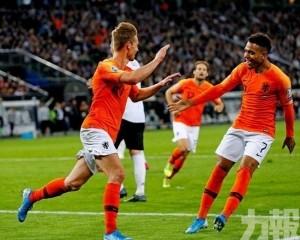 「橙衣兵團」客場4:2反勝德國