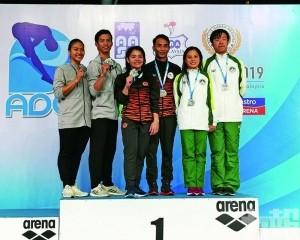 跳水代表亞洲盃摘兩銅