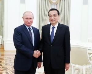 稱中俄合作取得許多新成果