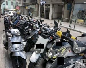多個電單車泊區10月增交通輔助標誌