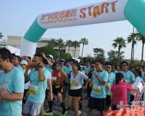 目標八十萬 明愛慈善跑起步