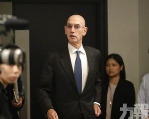 NBA總裁肖華連夜趕赴上海