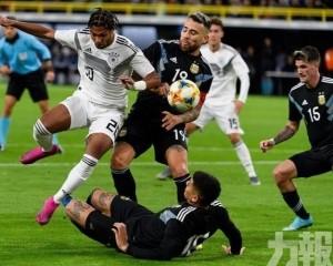 阿根廷兩球落後下逼和主隊德國