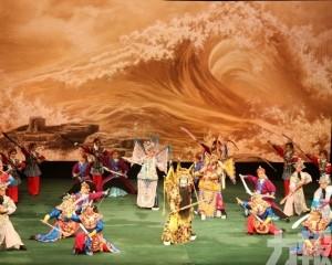 首場《滿江紅》文化中心上演