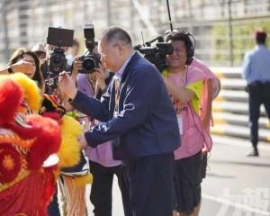 行政長官崔世安主持F3開賽儀式