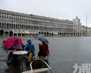 威尼斯今日水位料再達1.6米