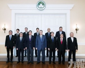 特首會見中國澳門體育暨奧林匹克委員會