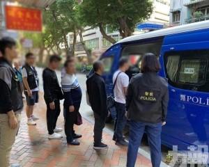 貴州扒手集團作案遭「斷正」警拘四男