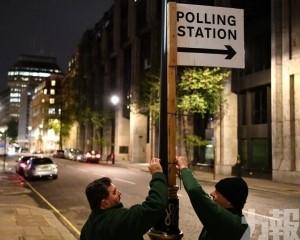 英國大選開始投票