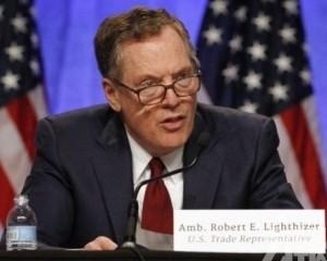 美貿易代表:料下月初華盛頓簽署